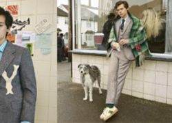 Harry Styles Comes Thru in a Very Chuck Bass Related Gucci Campaign