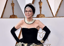 Rita Moreno Recycles 1962 Oscar Dress, Proving Age Is Just a Number