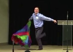 Massachusetts Anti-LGBT Hate Group Launches Conference with Faaaaabulous Flag Dance: WATCH
