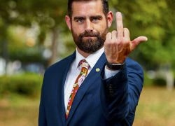 Out PA Rep. Brian Sims Welcomes Mike Pence to Philly with Middle Finger: 'Get Bent, Then Get Out'