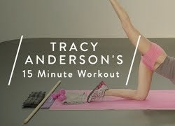 Tracy Anderson's 15 Minute Workout