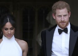 Meghan Markle's Reception Dress Is a Stunning Stella McCartney Creation