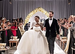 Serena Williams' Dreamy Wedding Dress Came With a Cape Fit For a Disney Princess