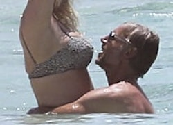 Jessica Simpson Flaunts Her Figure in a Bikini and Shows PDA With Eric Johnson in the Bahamas