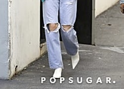 Take a Pic of Kendall Jenner's Yeezy Jeans and Paste It Onto Your Mood Board For Reference