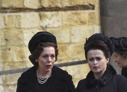 Oooh, It's Helena Bonham Carter and Olivia Colman in Costume For The Crown