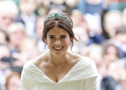 Royal Wedding II: Princess Eugenie Glows in Peter Pilotto