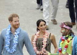 Royal Tour, Day 4: Meghan and Harry Get Some Barefoot Beach Time
